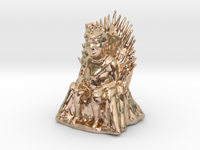 Donald Trump as Game of Thrones Character in 14k Rose Gold: Small