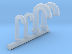 1/100 DKM Vent Tubes Set in Smooth Fine Detail Plastic