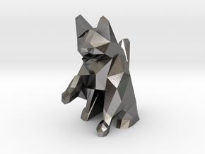 Wazir-Rider (Rook) - [1,0] Black Warren in Polished Nickel Steel