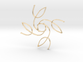Laurel in 14k Gold Plated Brass