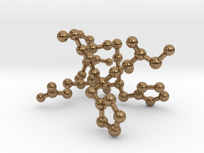 Polypeptide SHUGHES in Natural Brass