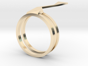 Wind Ring in 14K Gold: 9 / 59