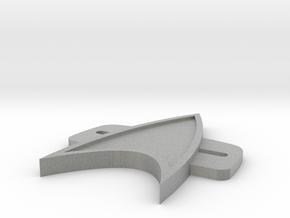 VoyagerBadge in Metallic Plastic