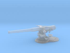 1/72 USN 4 inch 50 (10.2 cm) Sub Gun Deck  in Smooth Fine Detail Plastic