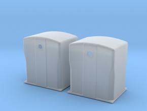 TJ-H01118x2 - Bennes à verre in Smooth Fine Detail Plastic