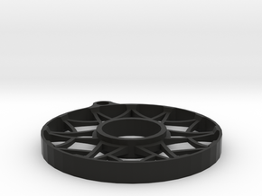 Asher-3-spin Series in Black Natural Versatile Plastic