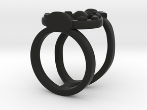 Potion Of The Unseen Midi Ring in Black Natural Versatile Plastic: 3 / 44