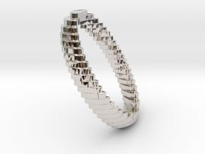 archetype - wedding ring in Rhodium Plated Brass: 5 / 49