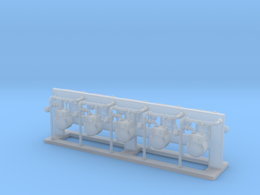 Gas Meter(10)Rev2 35:1 Scale in Smooth Fine Detail Plastic