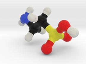 Taurine molecule model. 4 Sizes. in Full Color Sandstone: 1:10