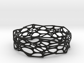 Morph Bangle in Black Natural Versatile Plastic: Large