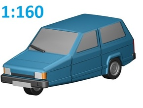 Reliant Robin (N, 1:160) in Frosted Ultra Detail