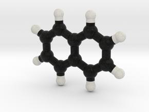 Naphtalene Molecule Model. 3 Sizes. in Full Color Sandstone: 1:10