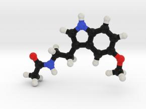 Melatonin Molecule Model. 3 Sizes. in Full Color Sandstone: 1:10