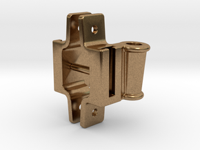 """Classification Lamp Bracket Set - 1.5"""" Scale in Natural Brass"""