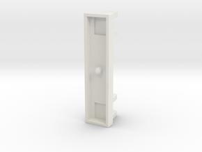 Rollstop Scharnier hinge for sailboat hatch in White Natural Versatile Plastic