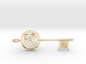 Key To The Universe in 14K Yellow Gold