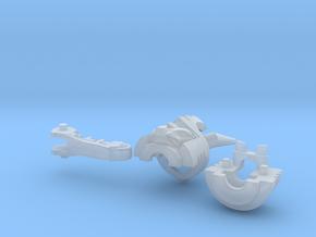 Cyclonus 2 Horn Head Kit in Smooth Fine Detail Plastic