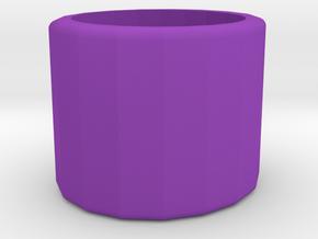 Ring/Rolling desk toy in Purple Processed Versatile Plastic