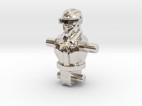 Spike Diaclone Inchman, Body in Rhodium Plated Brass