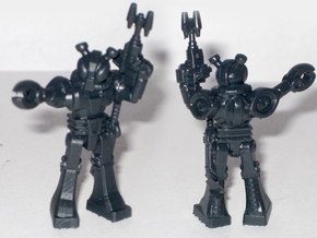 Waruder Kabutron Field Commander 35mm mini in Black Hi-Def Acrylate
