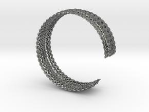 Bracelet Deco Medium in Polished Silver