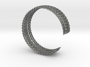 Bracelet Deco small in Polished Silver