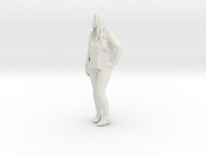 Printle C Femme 293 - 1/32 - wob in White Natural Versatile Plastic