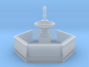 TJ-H01138 - Fontaine hexagonale in Smooth Fine Detail Plastic