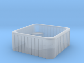 N Scale Whirlpool in Smooth Fine Detail Plastic