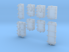 1/400 Royal Navy Assorted Deck Hatches x68 in Smoothest Fine Detail Plastic
