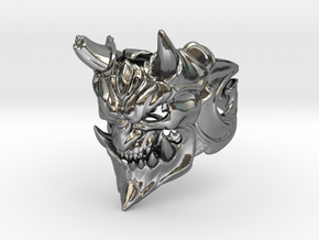 Demon ring in Polished Silver: 1.5 / 40.5