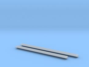 1:50 catwalks for 345B excavator model. in Smooth Fine Detail Plastic
