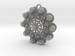 "Charro Pendant, 40mm (1.6"") in Metallic Plastic"