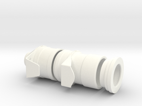 1.4 LAMA TURBINE AIR INTAKE in White Processed Versatile Plastic