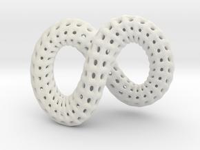True Infinity in White Natural Versatile Plastic
