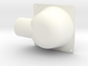 120112-04-22[1] Adapter in White Processed Versatile Plastic