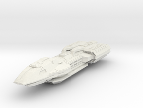 BSG  Maxin Class  BattleCruiser in White Strong & Flexible