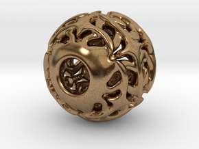 PA Charm V1f D14PE892L0s1 in Natural Brass