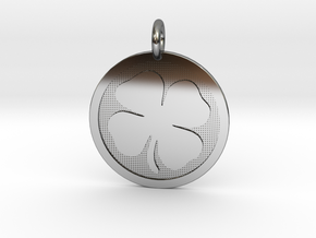 Four-Leaf Clover in Premium Silver