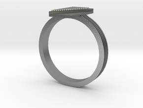 Fashion ring in Natural Silver: 9.5 / 60.25