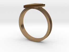 Fashion ring in Natural Brass: 9.5 / 60.25