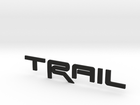 Trail Revision 2 upScaled in Black Strong & Flexible