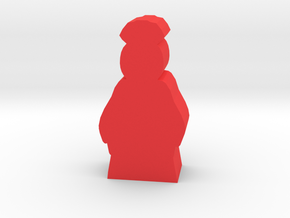 Game Piece, Ancient China Lady in Red Processed Versatile Plastic