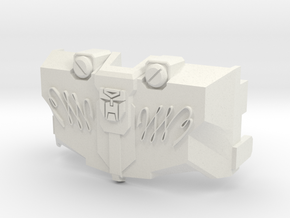 MTMTE Autobot Megatron Chest in White Natural Versatile Plastic