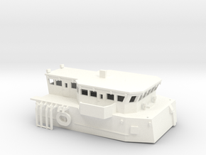 Superstructure 1:144 scale in White Processed Versatile Plastic