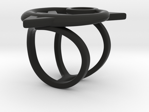 Ring Of Possession in Black Strong & Flexible: 6 / 51.5