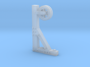 PULLEY or HOIST for Building Wall, HO Scale in Frosted Ultra Detail
