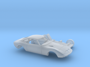 1/160 1968-73 Opel GT Two Piece Kit in Smooth Fine Detail Plastic