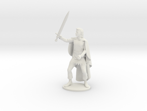 Belgarion Miniature in White Natural Versatile Plastic: 1:55